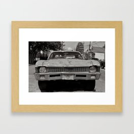 Bywater Car - New Orleans, Louisiana Framed Art Print