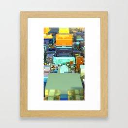 Metroscape Framed Art Print
