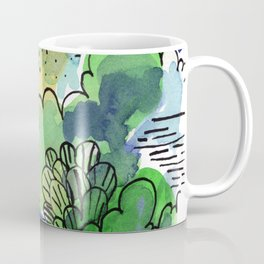Green fantasy Coffee Mug