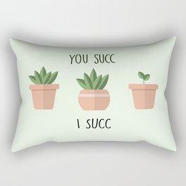 You Succ, I Succ Art Print Rectangular Pillow