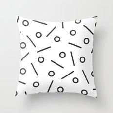 Fun Minimal Throw Pillow
