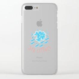 Sea Lettuce_Pattern Clear iPhone Case
