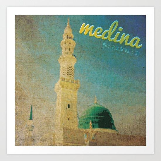 Medina Art Print