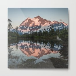 Cascade Sunset - Mt. Shuksan Metal Print