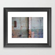Plug In Framed Art Print