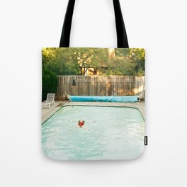 Pool Angel Tote Bag
