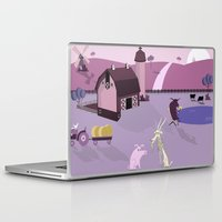 farm Laptop & iPad Skins featuring Farm by Andrew Formosa