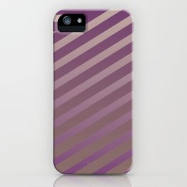 Variation of pattern by grey tones 2 iPhone Case