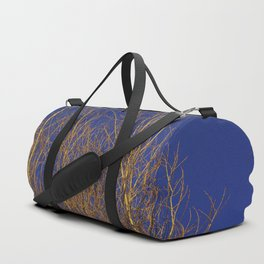 Glimmering Golden Willow Duffle Bag