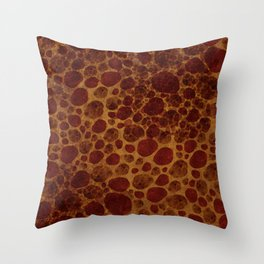 """Giraffe Cave Painting"" Throw Pillow"