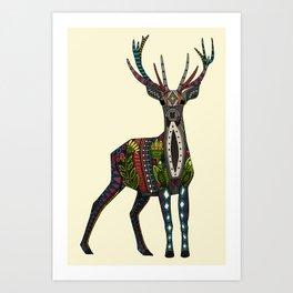 deer vanilla Art Print