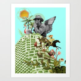And Then There was Steve Art Print