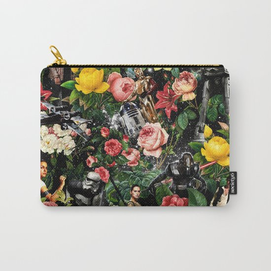 1977-2016 Starwars and Floral Pattern  Carry-All Pouch
