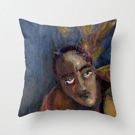Creative struggle Throw Pillow