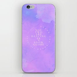 You Are In Love iPhone Skin