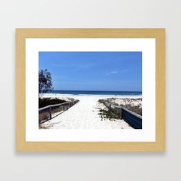 Keira Beach Framed Art Print