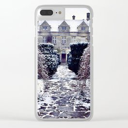 The Cotswolds In Winter Clear iPhone Case