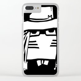 Dr M by Masato Jones Clear iPhone Case