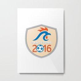 Saint Etienne 2016 Europe Championships  Metal Print
