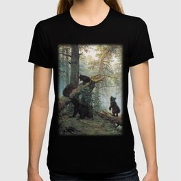 Shishkin Ivan Morning in a Pine Forest. T-shirt