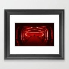 Face of the Shadow Framed Art Print