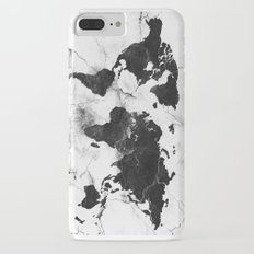 world map marble 3 Slim Case iPhone 7 Plus