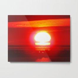Keyhole Sunset Metal Print