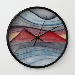 Geometric landscapes 06 Wall Clock