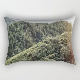 Up on the Mountain Top Rectangular Pillow