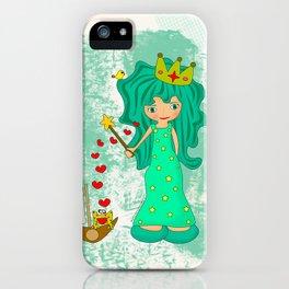 green princess iPhone Case
