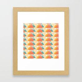 Bright Mountain Framed Art Print