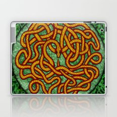 quozarrah jungle serpent mandala Laptop & iPad Skin