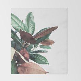 Grandiflora Throw Blanket