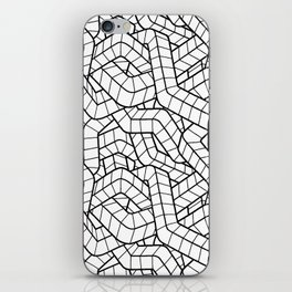 Ducts White iPhone Skin