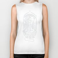 tarot Biker Tanks featuring Death Tarot by imadamspivak