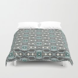 Brooches Pattern Duvet Cover
