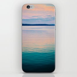 Just After the Sun Sets iPhone Skin