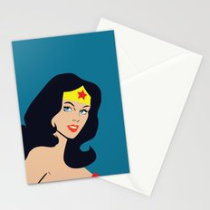 Fan art - Woman of Wonder - Superhero Stationery Cards