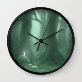 A Great Forest Wall Clock