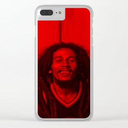 Marley - Celebrity (Photographic Art) Clear iPhone Case