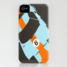 Orange Notch - Ford GT40 Race Car iPhone (4, 4s) Slim Case