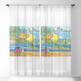 ZOO Sheer Curtain