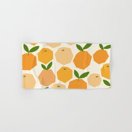 Orange Hand & Bath Towel