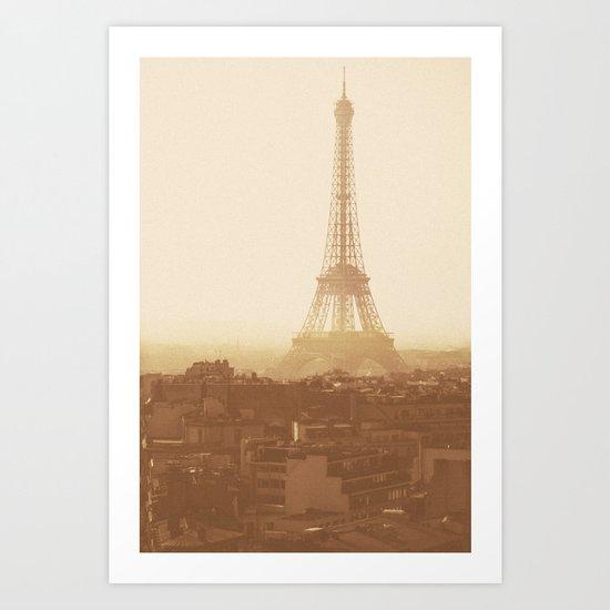 Expired Paris Art Print