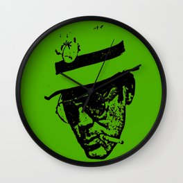 Outlaws of Literature (Hunter S. Thompson) Wall Clock