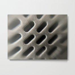 Microscopic Photography speaker Metal Print