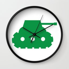 Mini-Tank Wall Clock