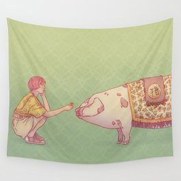 Signe du cochon Wall Tapestry