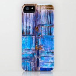 Old Door,Santorini iPhone Case