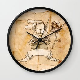 HEAD HUNTING- III Wall Clock
